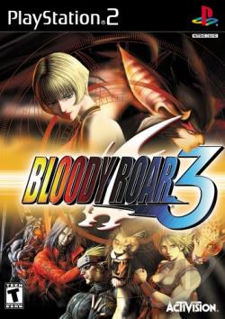 Bloody Roar 3 PS2 Cover Art