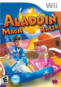 Aladdin Magic Racer WII Cover Art