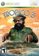 Tropico 3 XB360 Cover Art