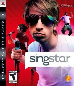 SingStar PS3 Cover Art