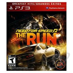 Need for Speed: The Run PS3 Cover Art