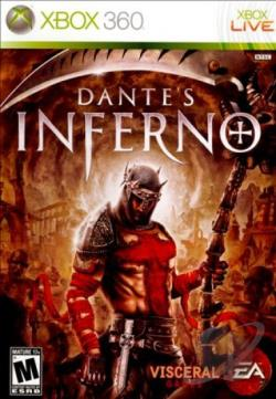 Dante's Inferno XB360 Cover Art