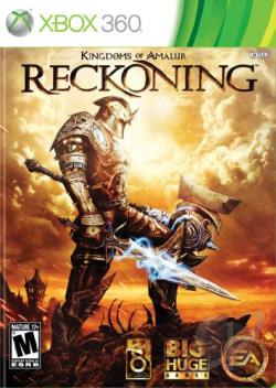 Kingdoms of Amalur: Reckoning XB360 Cover Art