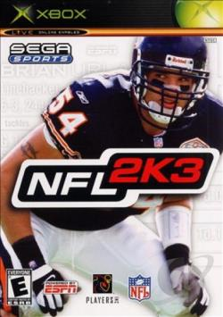NFL 2K3 XB Cover Art
