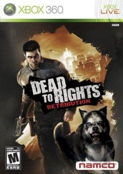 Dead to Rights: Retribution XB360 Cover Art