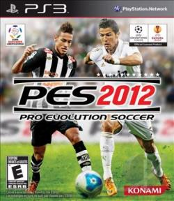 Pro Evolution Soccer 2012 PS3 Cover Art