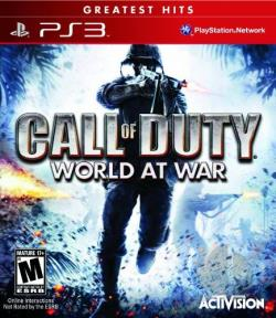 Call of Duty: World at War PS3 Cover Art