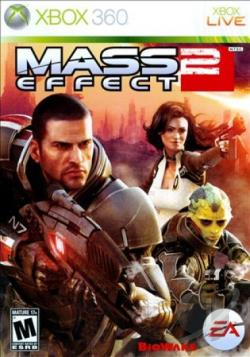 Mass Effect 2 XB360 Cover Art
