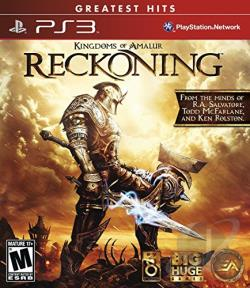 Kingdoms of Amalur: Reckoning PS3 Cover Art