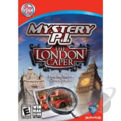 Mystery P.I.: The London Caper PCG Cover Art