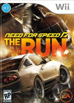 Need for Speed: The Run WII Cover Art
