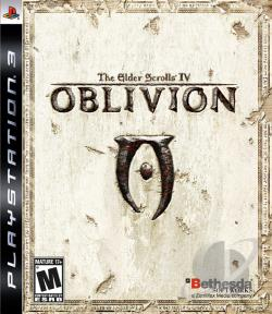 Elder Scrolls IV : Oblivion- Game of the Year Edition  PS3 Cover Art