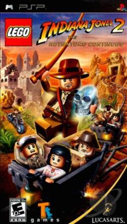 LEGO Indiana Jones 2: The Adventure Continues PSP Cover Art