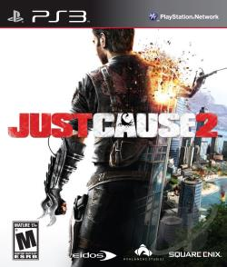 Just Cause 2 PS3 Cover Art