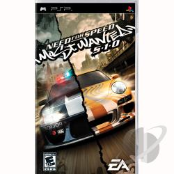 Need for Speed: Most Wanted -- 5-1-0 PSP Cover Art