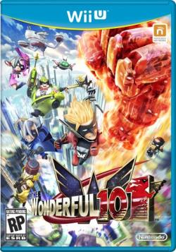 Wonderful 101 WIIU Cover Art