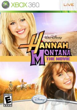 Hannah Montana: The Movie XB360 Cover Art