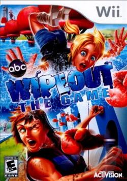 Wipeout: The Game WII Cover Art
