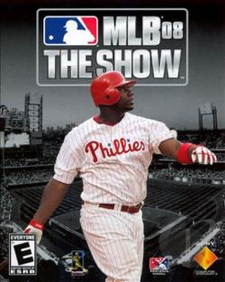 MLB 08: The Show PS3 Cover Art