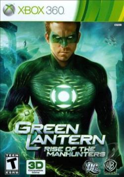 Green Lantern: Rise of the Manhunters XB360 Cover Art