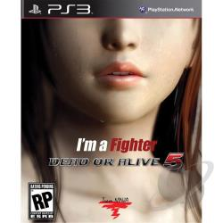 Dead or Alive 5 PS3 Cover Art