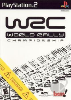 WRC: World Rally Championship PS2 Cover Art