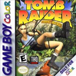 Tomb Raider GB Cover Art