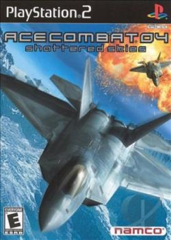 Ace Combat 4: Shattered Skies PS2 Cover Art