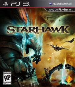 Starhawk PS3 Cover Art