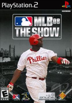MLB 08: The Show PS2 Cover Art