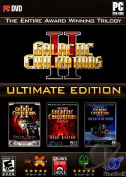 Galactic Civilizations II Ultimate Edition PCG Cover Art