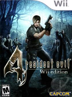 Resident Evil 4: Wii Edition WII Cover Art
