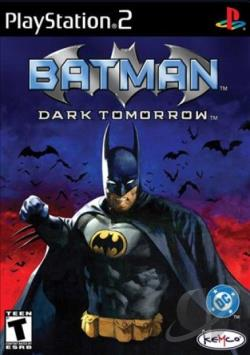 Batman: Dark Tomorrow PS2 Cover Art
