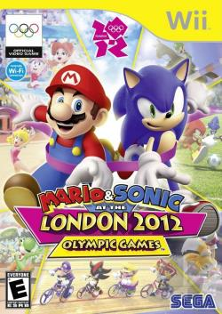 Mario & Sonic at the London 2012 Olympic Games WII Cover Art