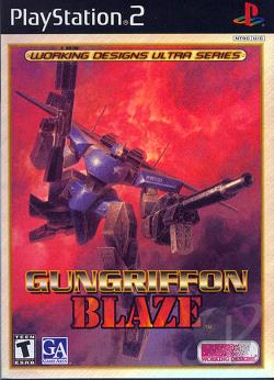 GunGriffon Blaze PS2 Cover Art