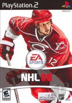 NHL 08 PS2 Cover Art