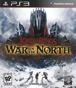 Lord of the Rings: War in the North PS3 Cover Art
