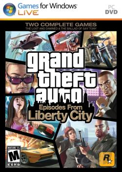 Grand Theft Auto: Episodes From Liberty City PCG Cover Art