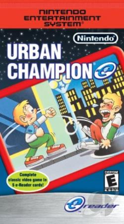 E-Cards Urban Champ GBA Cover Art
