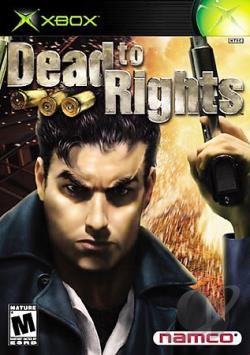 Dead to Rights XB Cover Art