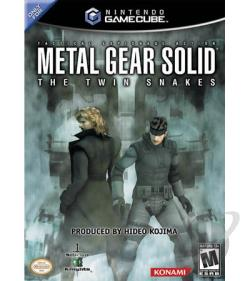 Metal Gear Solid: The Twin Snakes GQ Cover Art