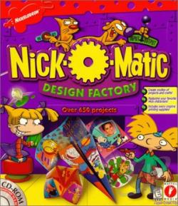 Nick O Matic Design Factory W98 Cover Art