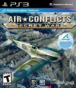 Air Conflicts: Secret Wars PS3 Cover Art