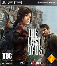 Last of Us PS3 Cover Art