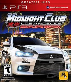 Midnight Club: Los Angeles (Complete Edition) PS3 Cover Art