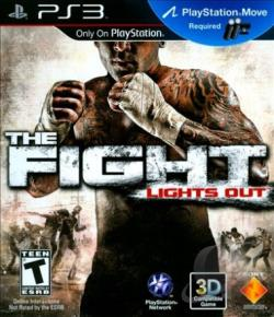 Fight: Lights Out PS3 Cover Art