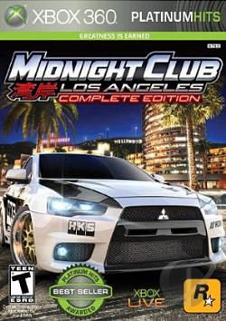 Midnight Club: Los Angeles Complete Edition XB360 Cover Art