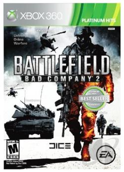 Battlefield: Bad Company 2 XB360 Cover Art