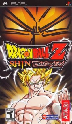 Dragon Ball Z: Shin Budokai PSP Cover Art