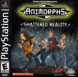 Animorphs: Shattered Reality PS Cover Art